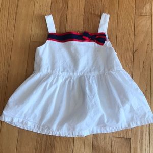 Gymboree Red White Blue Tank Lined Bow 5 5T Cute